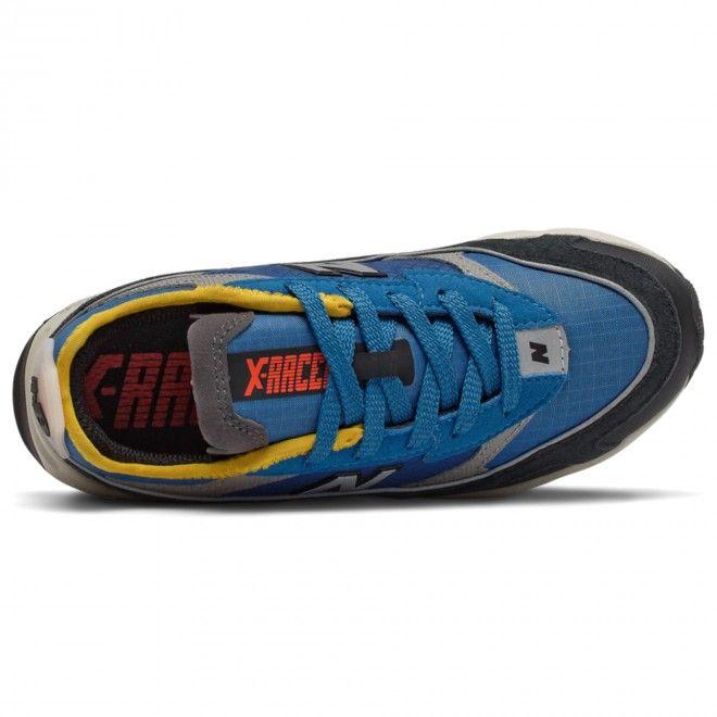Sapatilhas New Balance X-Racer Criança Azul Sintético Malha Psxrchsd
