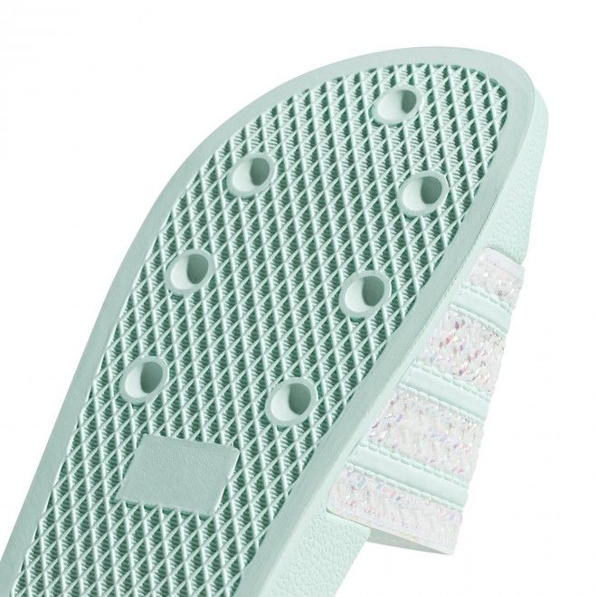Chinelos Adidas Adilette W Femininos Verde Cg6257