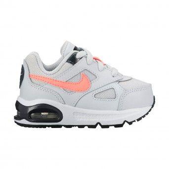 Sapatilhas Nike Air Max Ivo (Td) Criança Couro e Têxtil Cinzento 580372-003
