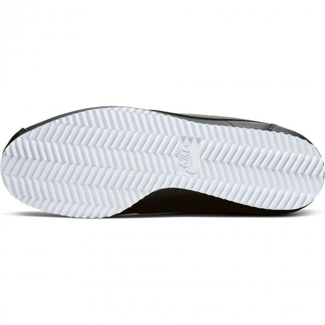 Sapatilhas Nike Classic Cortez Leather Unissexo Preto Pele Sintética 807471-021