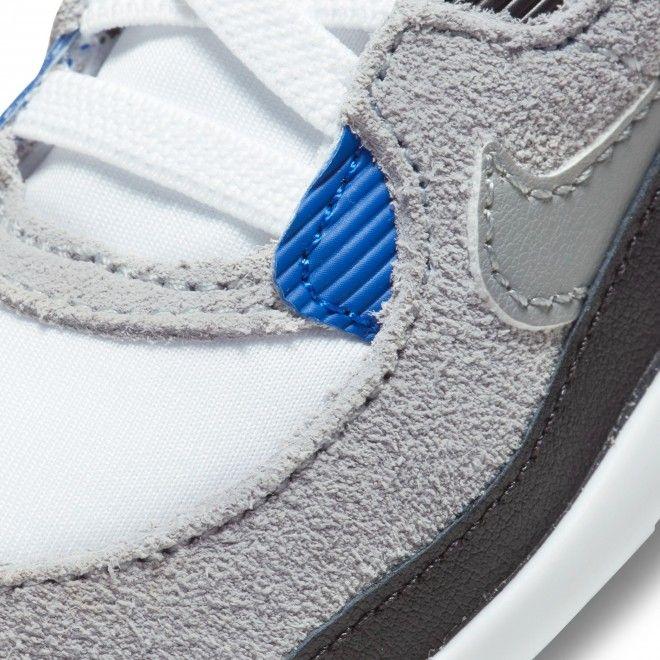 Sapatilhas Nike Crib Air Max 90 Criança Cinzento Pele Ci0424-103