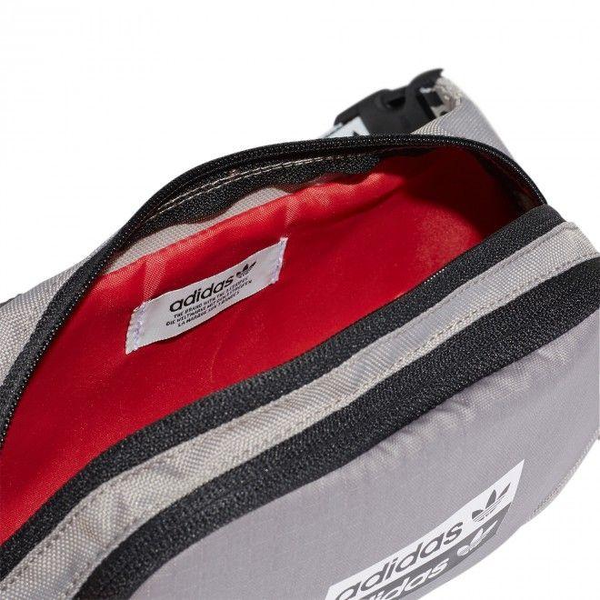 Bolsa Adidas Ryv Waistbag Unissexo Cinzento Poliéster Fm1297