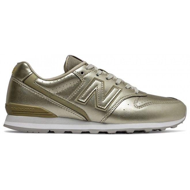 Sapatilhas New Balance 996 Feminino Dourado Pele Sintética  Wl996Alt