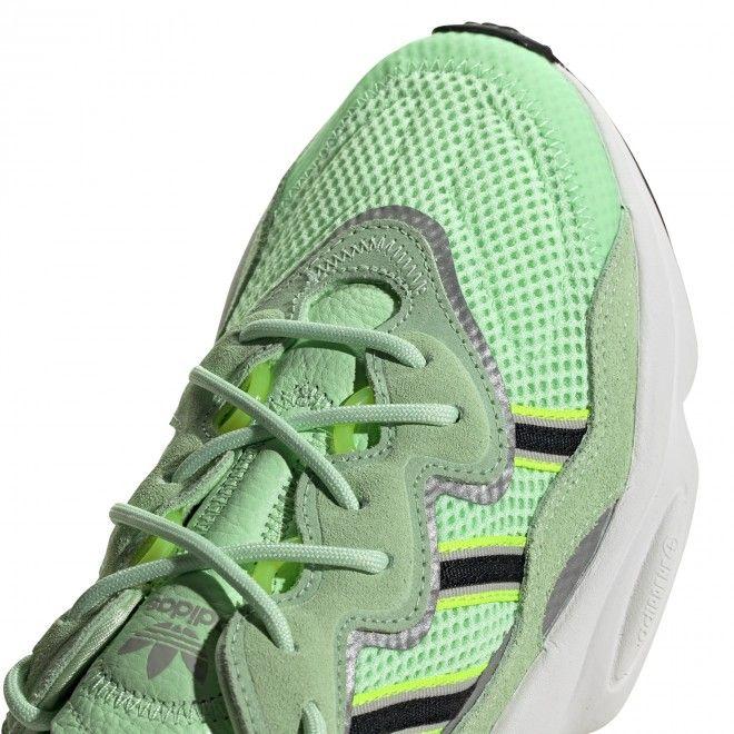 Sapatilhas Adidas Ozweego Unissexo Verde Malha Ee6466