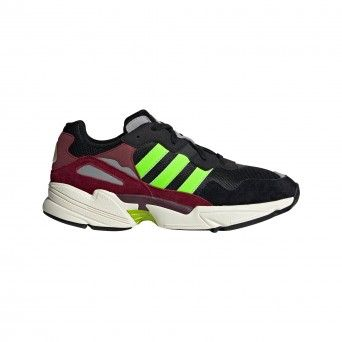 Sapatilhas Adidas Yung-96 Unissexo Preto Couro Ee7247