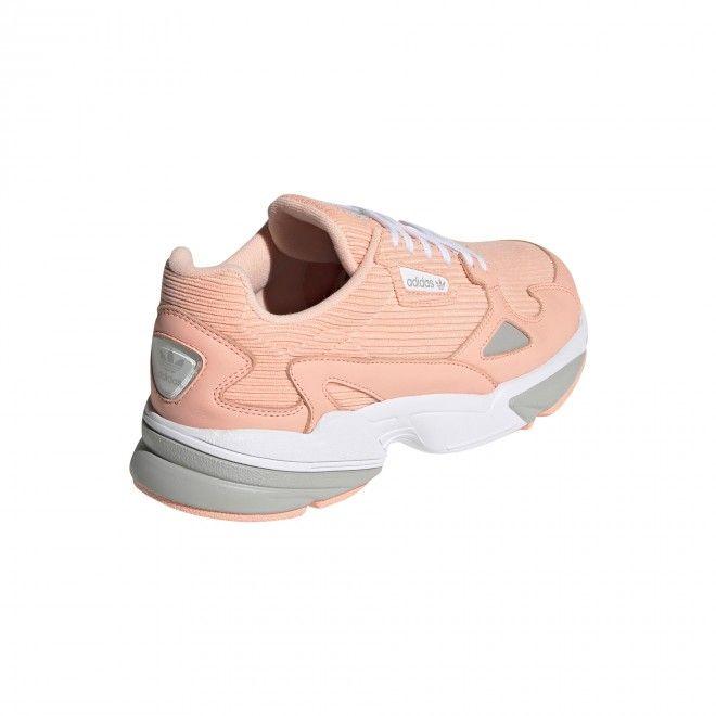Sapatilhas Adidas Falcon W Feminino Rosa Couro Ee5122