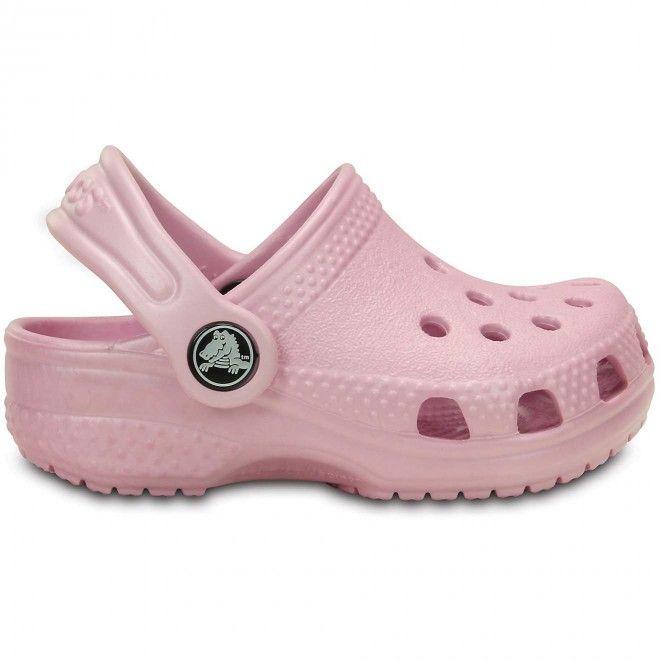 Crocs Littles Criança Feminino Rosa Espuma 11441-6Gd