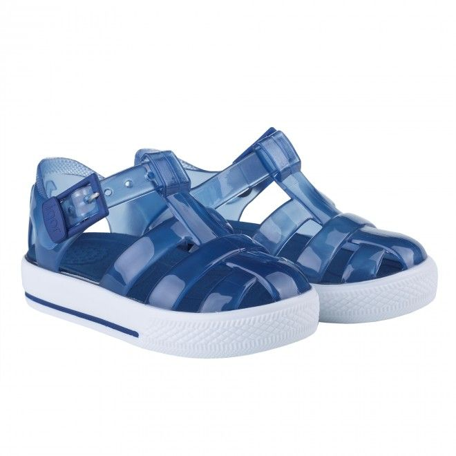 Sandálias Igor Cr Criança Azul Borracha S10107-083