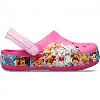 Crocs fl Paw Patrol Band Clog K Criança Rosa 205509-670
