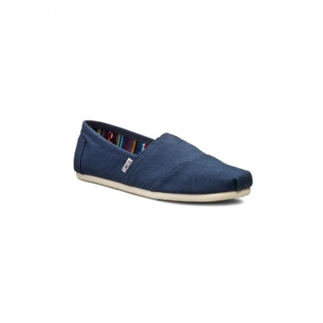 TOMS ALPERCATAS NAVY CANVAS 10000866