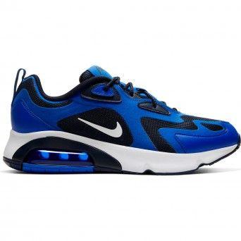 Sapatilhas Nike Air Max 200 Tecido Azul Masculino AQ2568-406