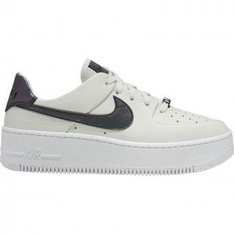 Sapatilhas Nike W Af1 Sage Low Lx Feminino Branco Couro