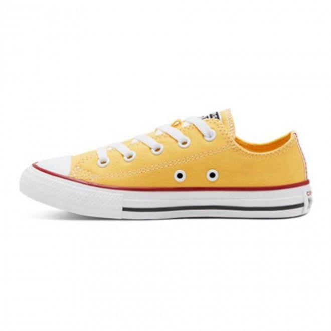 Converse Allstar Ctas Ox Criança Amarelo Lona 666820C