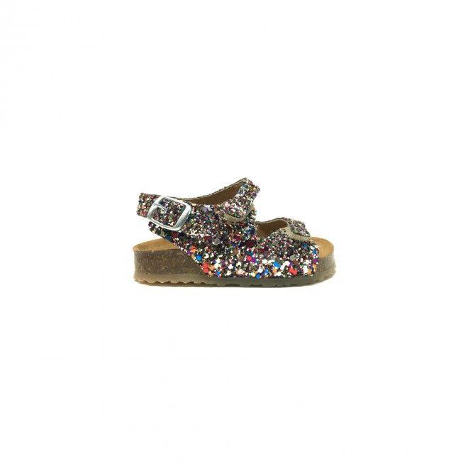 Sandálias Plakton Glitter Multicolor