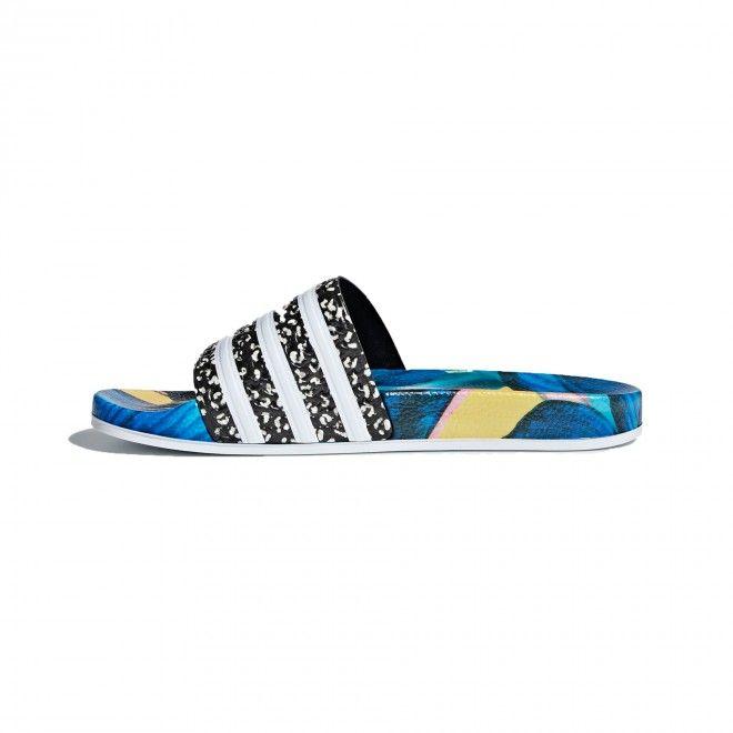 Chinelos Adidas Adilette Azul Feminino Poliuretano B28007