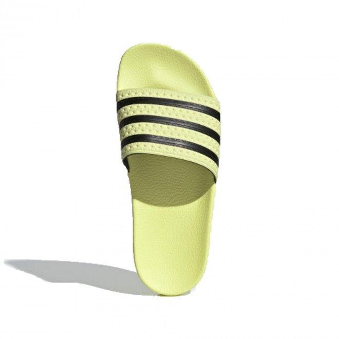 Sandálias Adidas Adilette W Feminino Amarelo Borracha CM8494