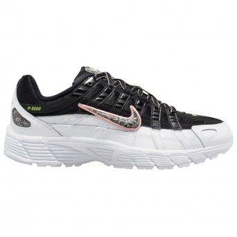 Sapatilhas Nike W P-6000 Se Feminino Preto Couro Cj9585-001