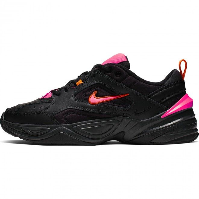 Sapatilhas Nike M2K Tekno Feminino Preto Couro Av4789-008