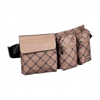 Bolsa Fila Waist Bag New Twist Unissexo Castanho Poliéster