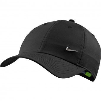 Boné Nike H86 Metal Swoosh Unissexo Preto Poliéster 943092-010