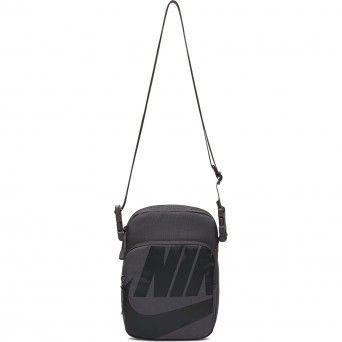 Bolsa Nike Heritade Smit Unissexo Cinzento Poliéster