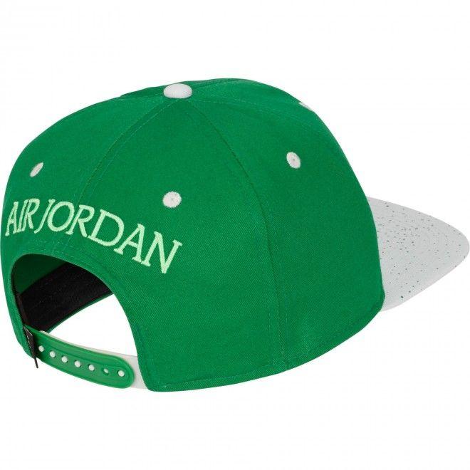 Boné Jordan Pro Jm Unissexo Verde Algodão Cu1985-323