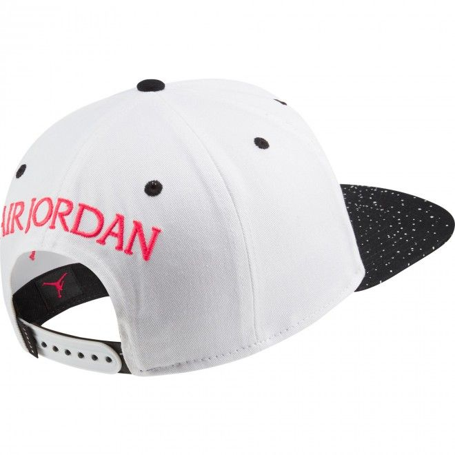 Boné Jordan Pro Jm Cement Unissexo Branco Algodão Cu1985-101