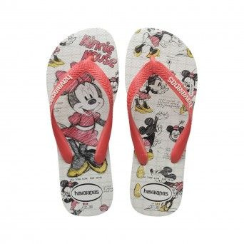Chinelos Havaianas Disney Stylish Feminino Rosa Borracha 4123500