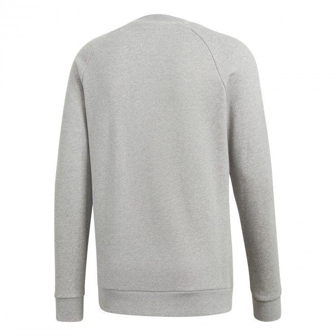 Sweatshirt Adidas Trefoil Crew Masculino Cinzento Algodão Cy4573