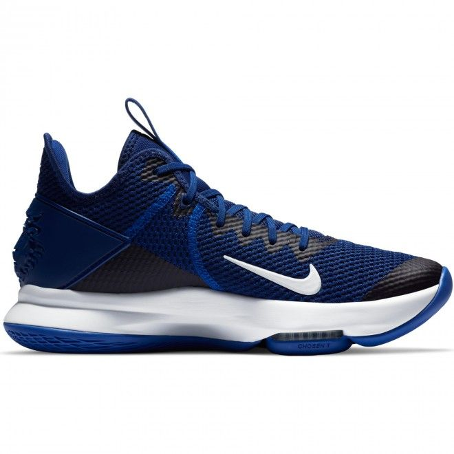 Botas Nike Lebron Witness Iv Masculino Azul Malha Cv4004-400