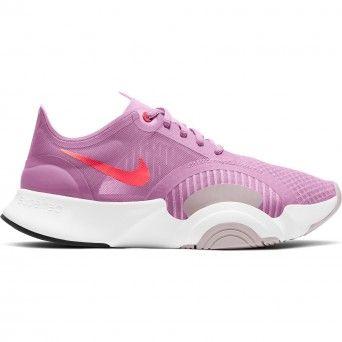 Sapatilhas Nike Superrep Go Feminino Rosa Malha Cj0860-660