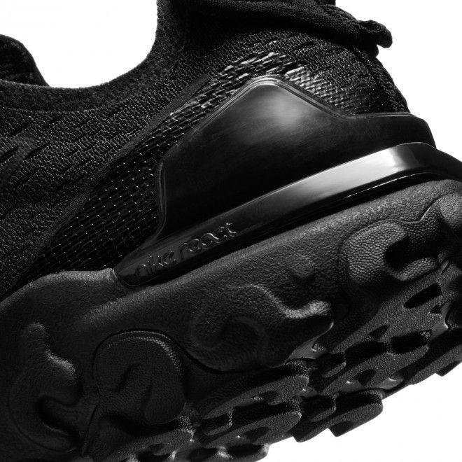 Sapatilhas Nike React Vision Gs Unissexo Preto Malha Cd6888-004