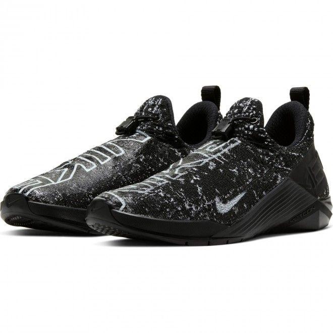 Sapatilhas Nike Metcon Flyknit Feminino Preto Malha Bq6046-010