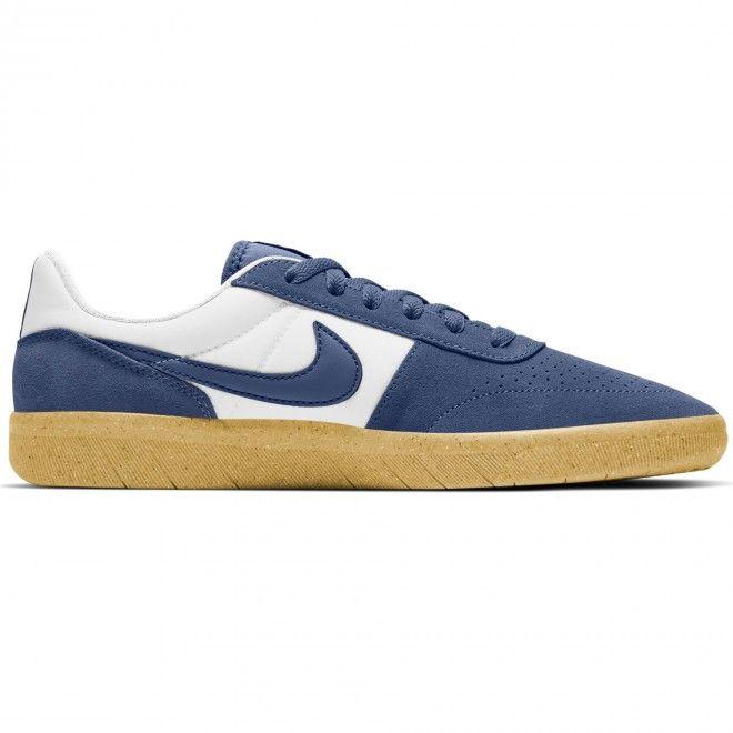 Sapatilhas Nike Sb Team Classic Masculino Azul Camurça