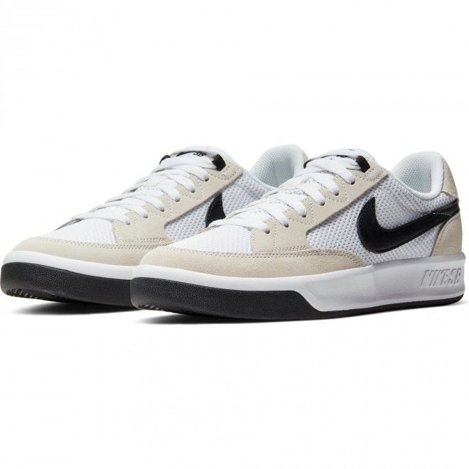 Sapatilha Nike Sb Adversary Unissexo Branco Têxtil