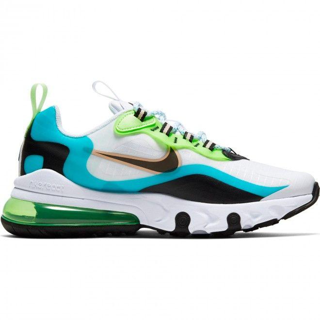 Sapatilhas Nike Air Max 270 React Se Júnior Branco Cj4060-300