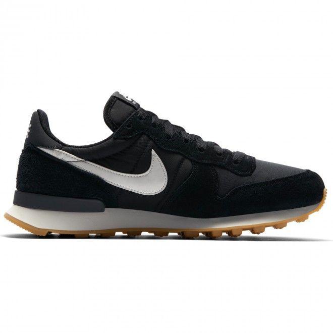 Sapatilhas Nike Wmns Internationalist Preto Camurça 828407-021
