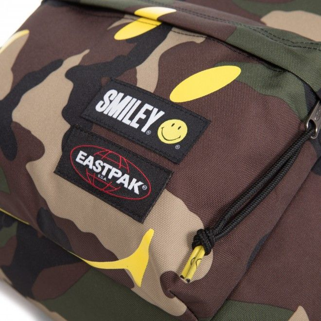EASTPAK PADDED SMILEY CAMO EK620A93