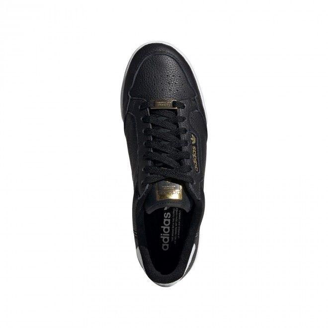 Sapatilhas Adidas Continental 80 Masculino Preto Pele Eh1546