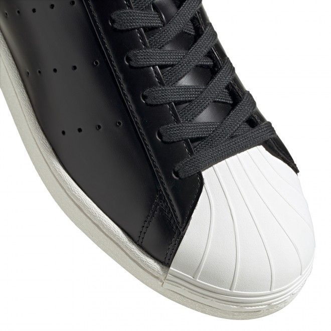 Sapatilhas Adidas Superstar Pure Unissexo Preto Couro Fv3015