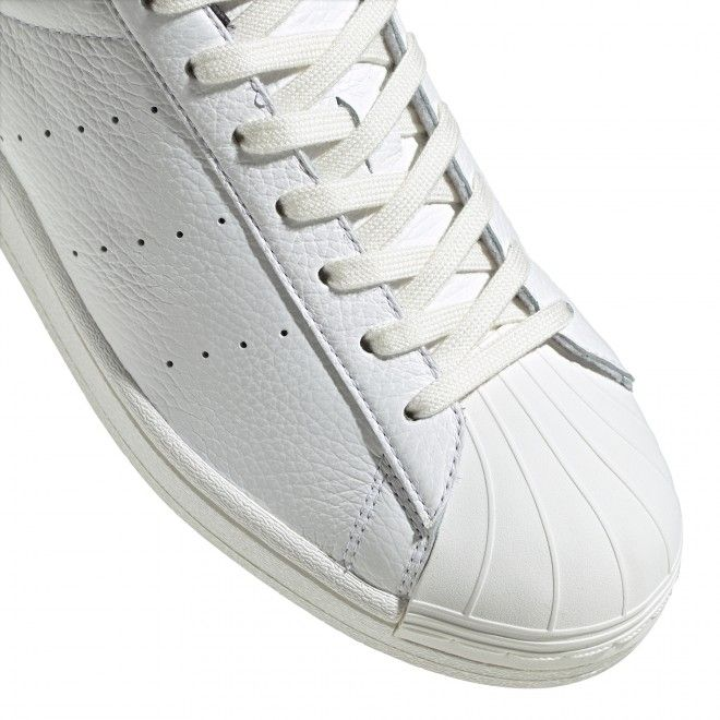 Sapatilhas Superstar Pure Unissexo Branco Pele