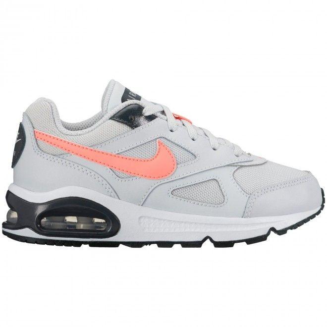 Sapatilhas Nike Air Max Ivo (Ps) Criança Cinzento Couro e Têxtil 580371-003