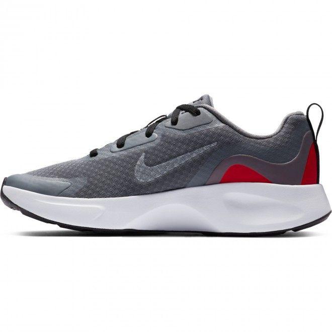 Sapatilhas Nike Wearallday Gs Unissexo Cinzento Malha Têxtil Cj3816-004