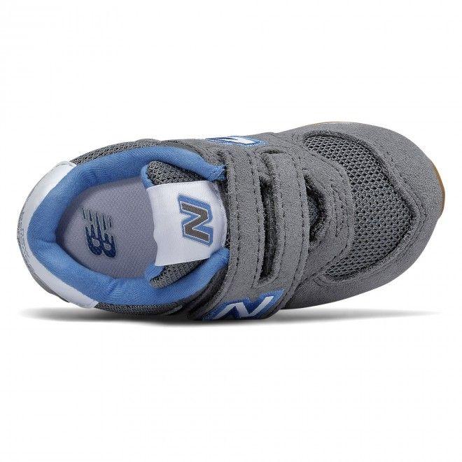 Sapatilhas New Balance 574 Cinzento Infantil | Masculino Camurça IV574ATR