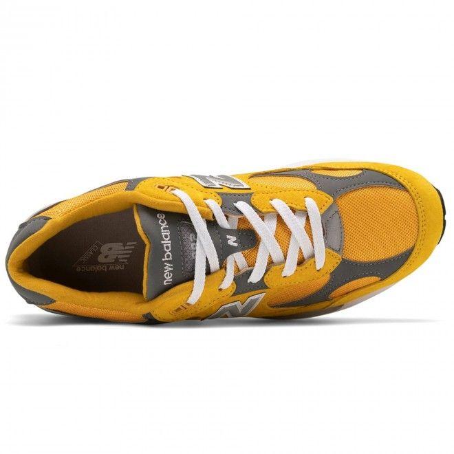 Sapatilhas New Balance 992 Masculino Amarelo Nobuck