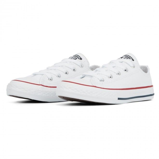 Converse Little Kids Leather Chuck Taylor All Star Low Top 335892C
