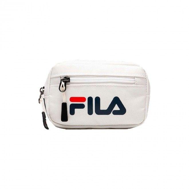 Bolsa Fila Sporty Belt Bag Unissexo Branco Poliéster 685113-M67