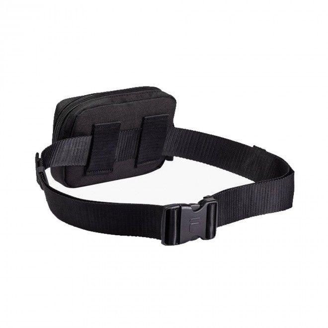 Bolsa Fila Sporty Belt Bag Unissexo Preto Poliéster 685113-002