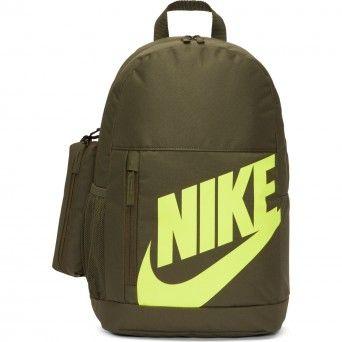 Mochila Nike Y Elementl Criança Verde Poliéster Ba6030-325