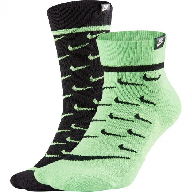 Meias Nike Sneaker Sox Unissexo Multicolor Tecido CK5607-902